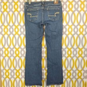 AMERICAN EAGLE Size 8 Slim Boot Stretch Jeans